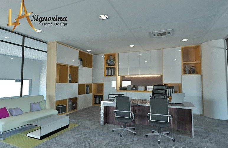 Klang valley interior designer interior designer in klang for Director office room design